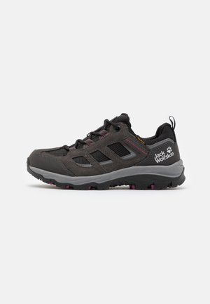 VOJO 3 TEXAPORE LOW  - Hiking shoes - dark steel/purple