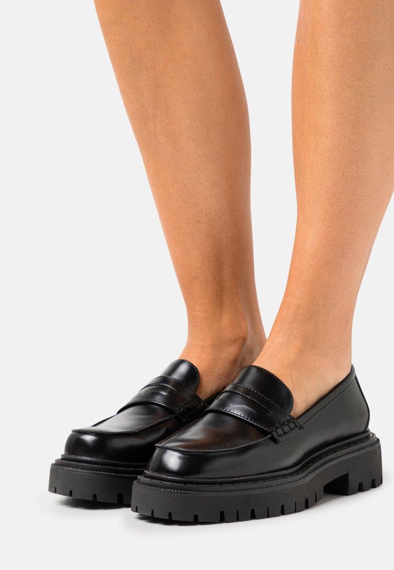 ALDO - BIGSTRUT - Slip-ons - black
