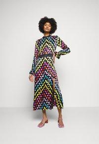 Olivia Rubin - MARLEY DRESS - Maxi šaty - black/multi-coloured - 1