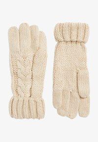 Next - Gloves - light brown - 0