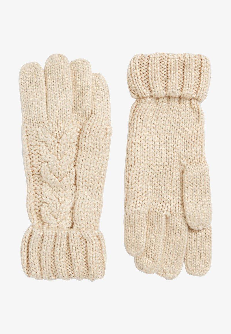 Next - Gloves - light brown