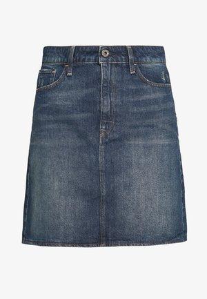 3301  - Denim skirt - vintage blue stone