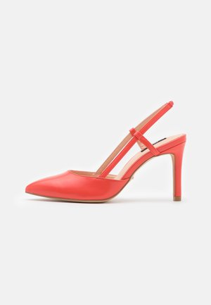 ONLPEACHES SLING BACK - High heels - coral