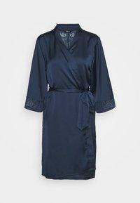 Etam - EVENTAIL DESHABILLE - Dressing gown - marine - 4