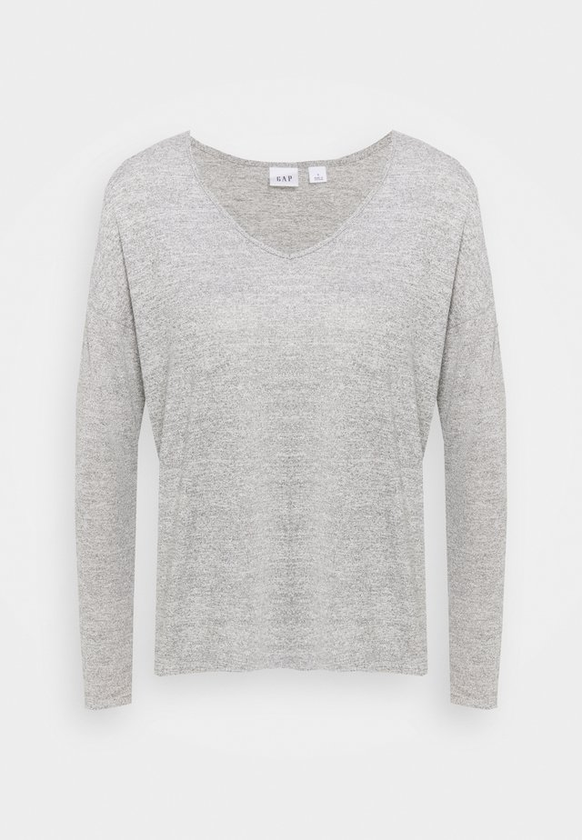 Sweter - heather grey