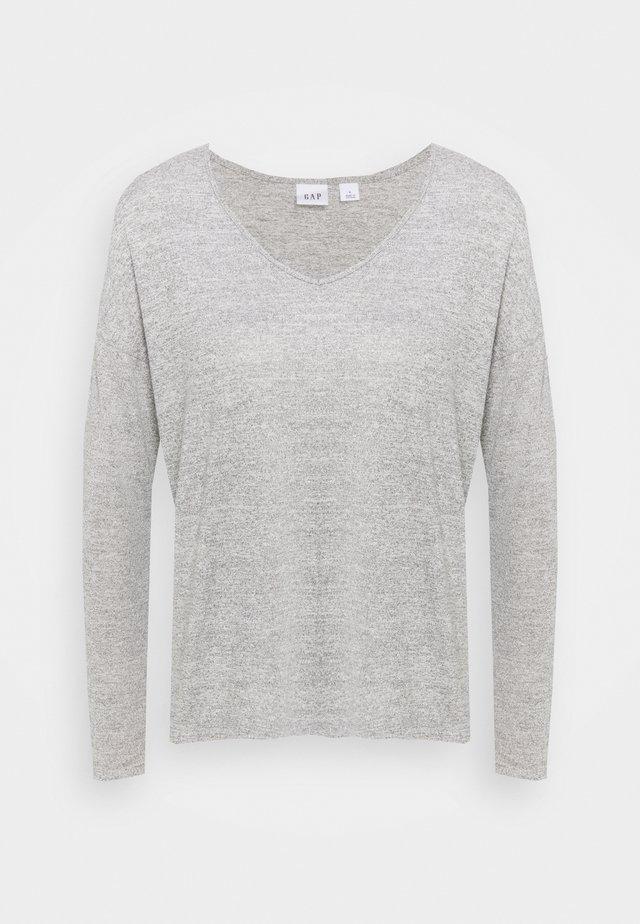 Strickpullover - heather grey