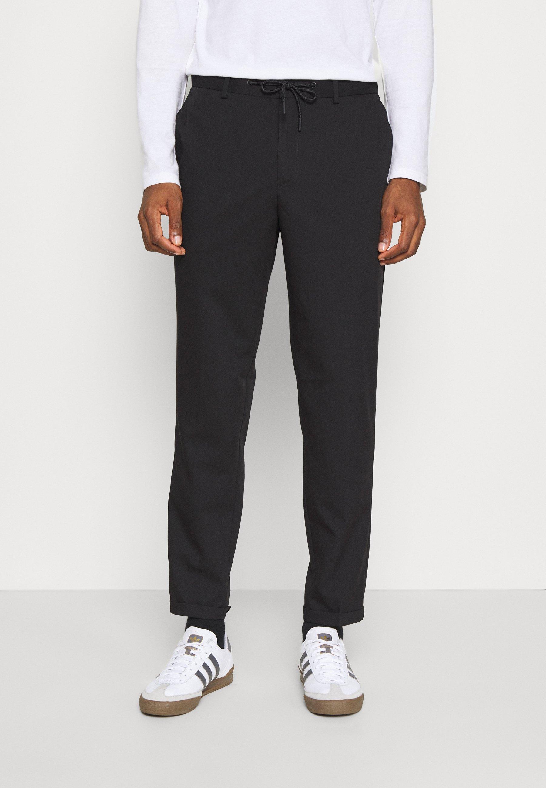 Homme SLHSLIMTAPERED GUARD STRING PANTS  - Pantalon classique