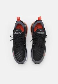 Nike Sportswear - AIR MAX 270 - Zapatillas - black/team orange/iron grey/turf orange/white/light smoke grey - 3