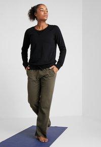 Deha - FELPA GIROCOLLO - Sweatshirts - black - 1