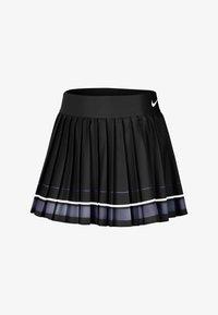 Nike Performance - MARIA W NKCT - Sports skirt - black/light carbon/white/white - 0