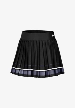 MARIA W NKCT - Sports skirt - black/light carbon/white/white