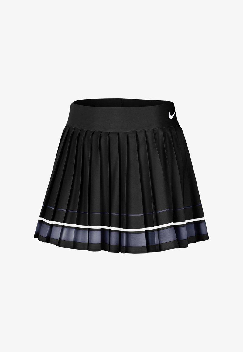 Nike Performance - MARIA W NKCT - Sports skirt - black/light carbon/white/white