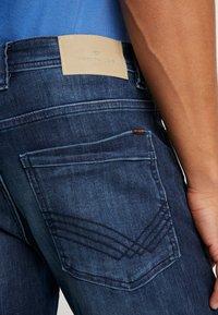 TOM TAILOR - MARVIN - Straight leg jeans - dark stone wash denim blue - 5