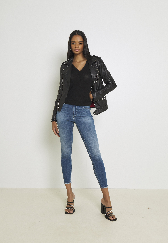Damen VMPEACH MR SKINNY  - Jeans Skinny Fit