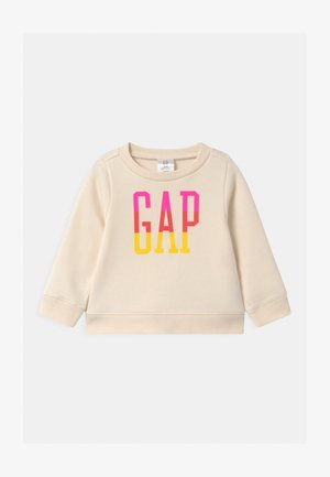 TODDLER GIRL LOGO CREW - Sweater - ivory frost