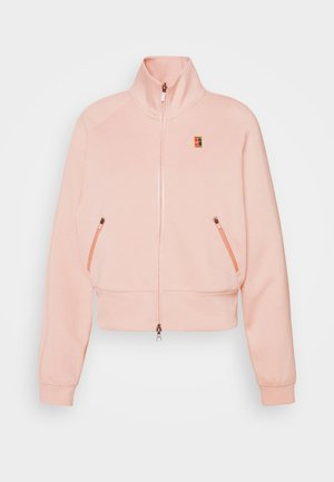 HERITAGE  - Training jacket - arctic orange/black