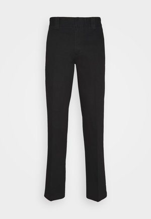DOT WORKPANTS - Trousers - black