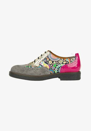 Casual lace-ups - pink