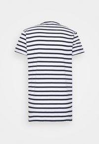 Kronstadt - Navey - T-shirt print - navy white - 1