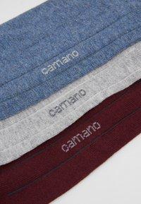 camano - SOFT SNEAKER BOX 7 PACK - Socks - bordeaux - 2