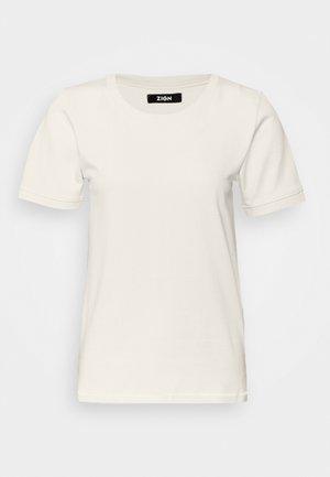 T-shirt - bas - whitecap grey