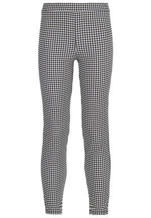 Leggings - Trousers - schwarz - 205c - vichy bianco nero