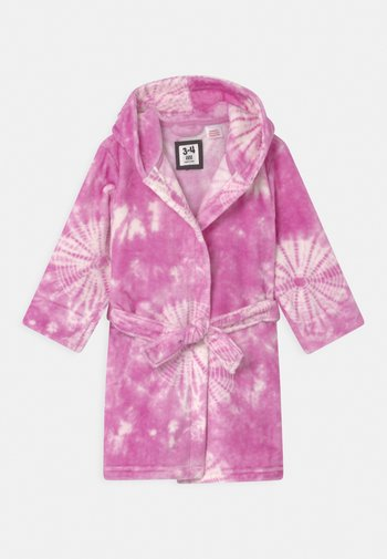 GIRLS HOODED LONG SLEEVE GOWN - Dressing gown - purple paradise