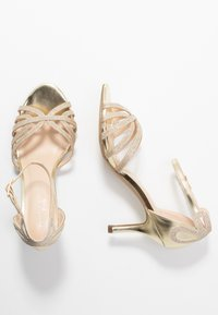 Paradox London Wide Fit - HARLEY WIDE FIT - Sandals - champagne glitter - 3