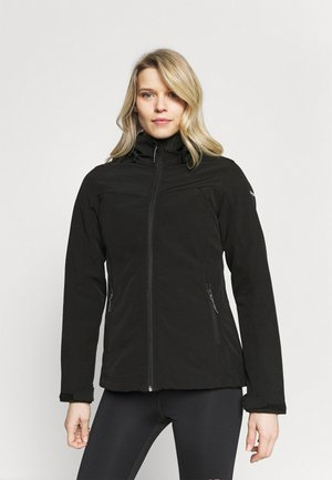 BRENHAM - Soft shell jacket - black
