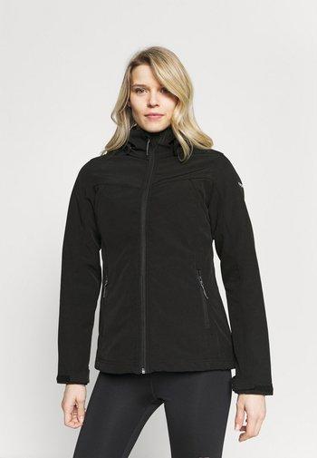 BRENHAM - Soft shell jacket - black
