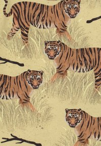 Walkiddy - TIGERS 2 PACK UNISEX - Print T-shirt - yellow - 3