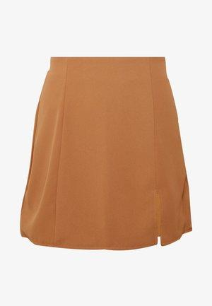 AVANTI SKIRT - Mini skirt - tan
