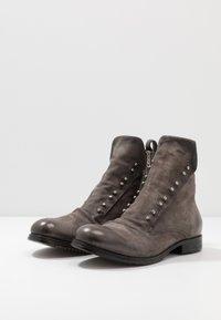 A.S.98 - CLASH - Cowboy/biker ankle boot - smoke - 2