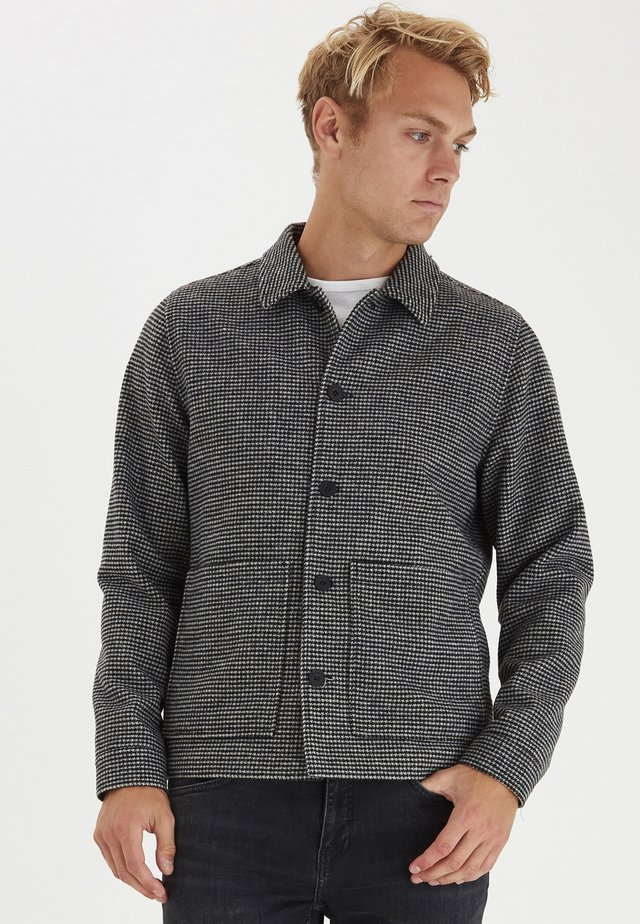 JACOB BLEND HOUNDSTOOTH  - Giacca da mezza stagione - anthracite black