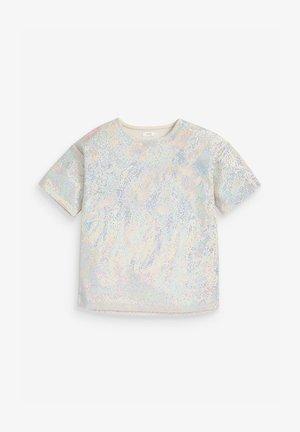 DISCO  - T-shirts print - silver