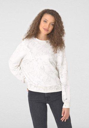 3D PRINTED - Sweatshirt - off-white