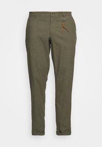 Jack & Jones - JJIMARCO JJLINEN AKM - Broek - olive night - 8