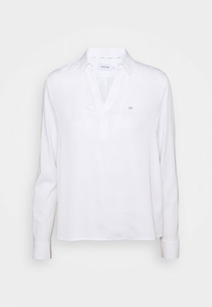 MIX MEDIA - Long sleeved top - bright white