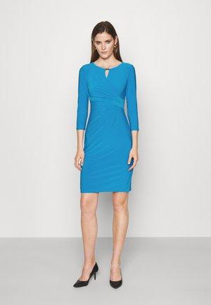 CARLONDA LONG SLEEVE DAY DRESS - Jersey dress - summer topaz
