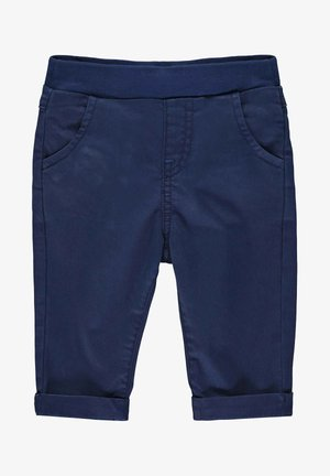 STEIFF COLLECTION HOSE MIT TEDDYBÄRMOTIV - Trousers - steiff navy