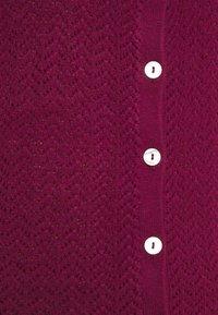 Fashion Union - ELISHA - Cardigan - burgundy - 5