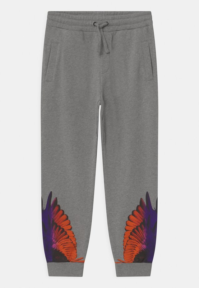 WINGS COLOR - Tracksuit bottoms - grigio melange