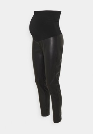 PELLE - Leggings - black