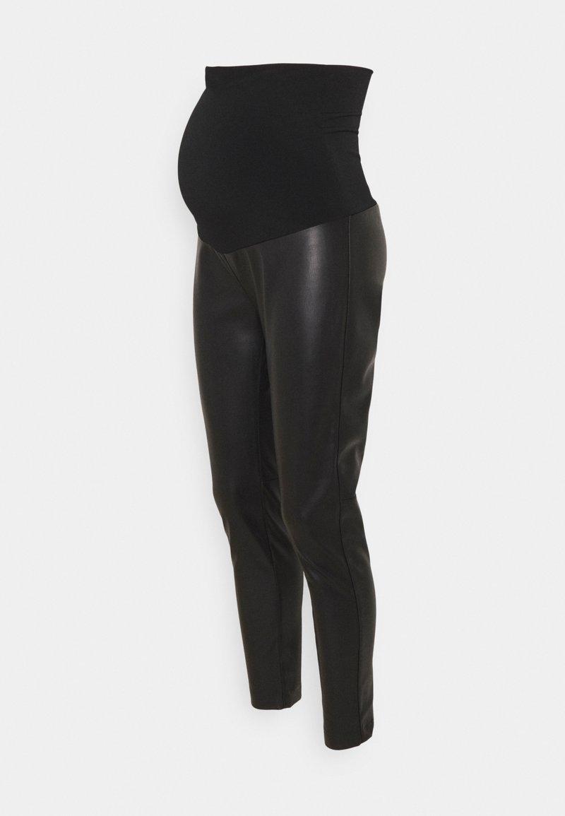Attesa Maternity - PELLE - Legging - black