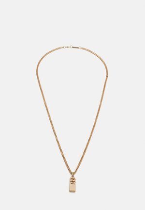 CURB MERGE NECKLACE - Necklace - gold-coloured