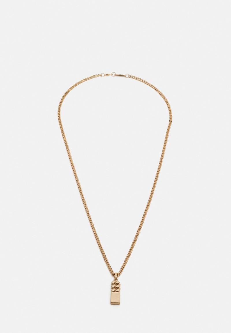 Icon Brand - CURB MERGE NECKLACE - Ketting - gold-coloured