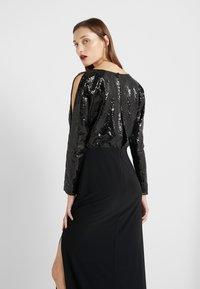 Lauren Ralph Lauren - CLASSIC GOWN  - Vestido de fiesta - black - 3
