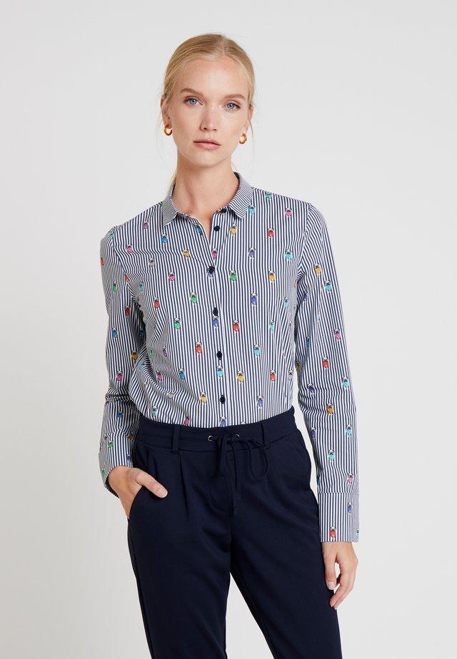 DANIA - Button-down blouse - dark blue