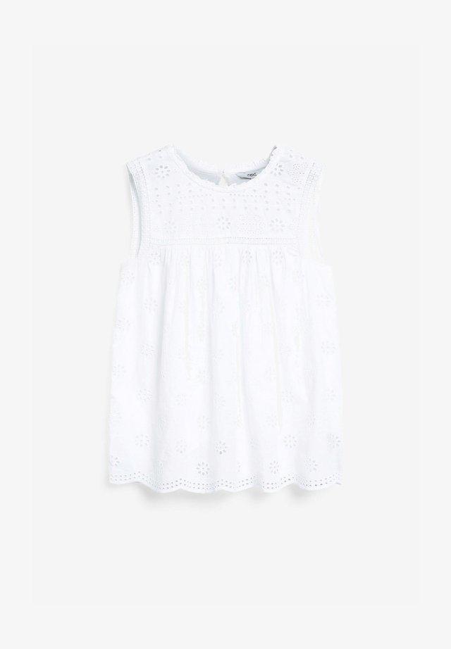 SLEEVELESS  - Blusa - white