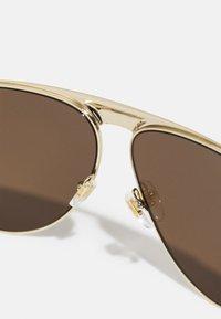 Gucci - UNISEX - Sunglasses - gold-coloured/brown - 3
